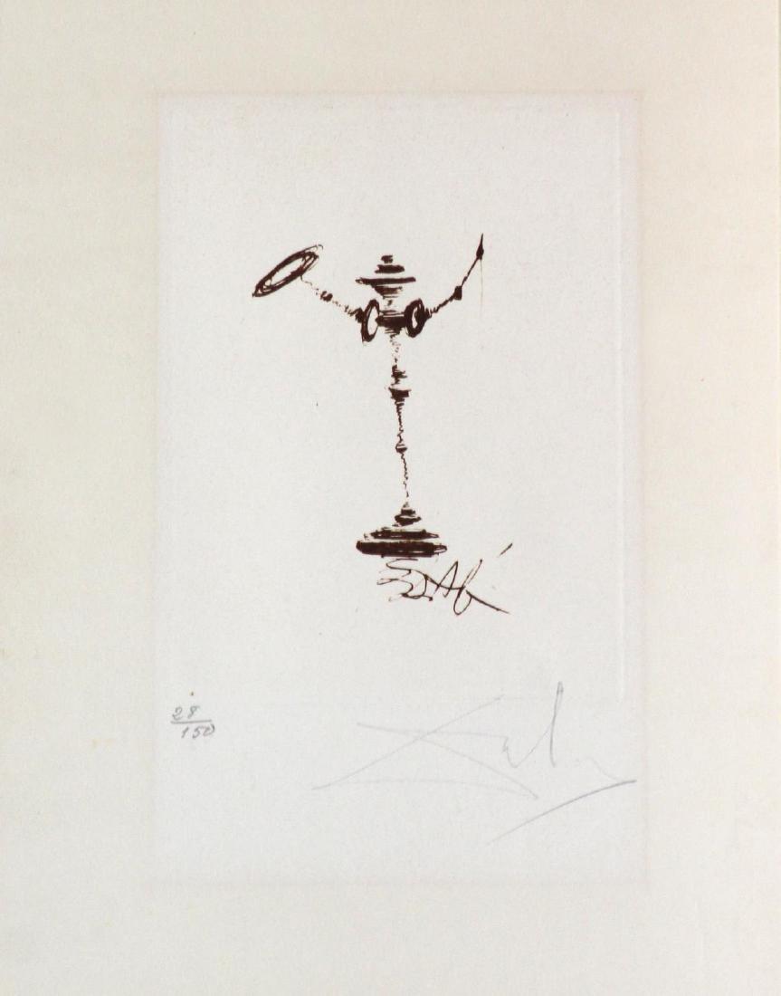 Salvador Dali - Don Quixote