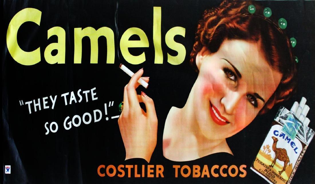 Vintage Poster - Camel Cigarettes Ad