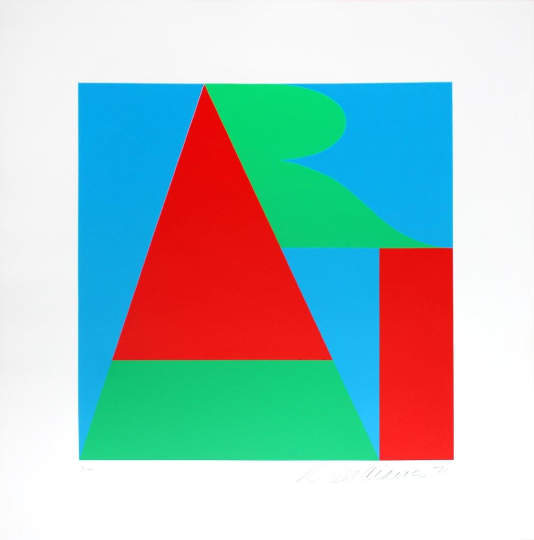 Robert Indiana - The Bowery Art