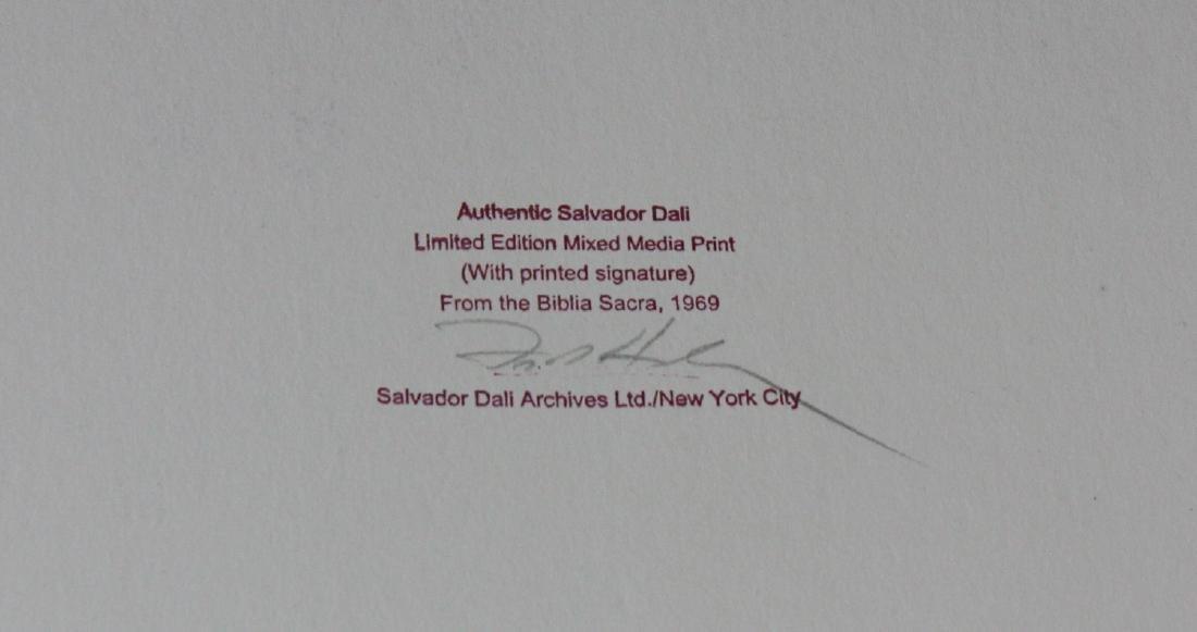Salvador Dali, from Biblia Sacra - 2