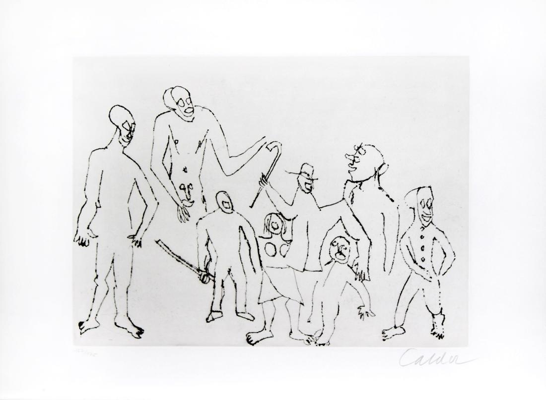 "Alexander Calder - Untitled, from ""Santa Claus"""