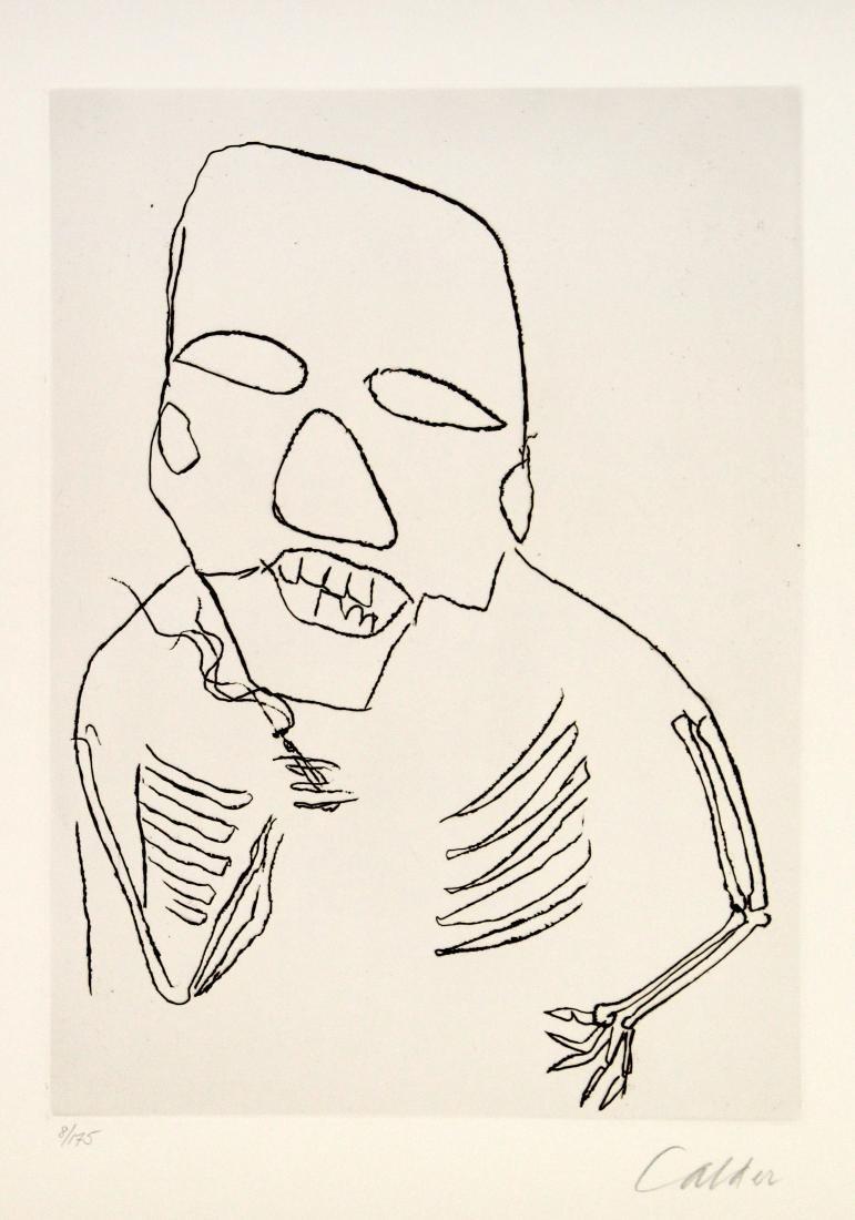 Alexander Calder - Santa Claus I