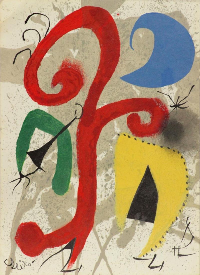 Joan Miro (After) - Garden in the Moonlight