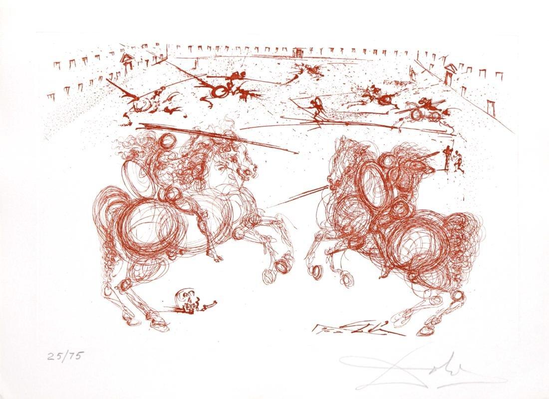 Salvador Dali - The Knights