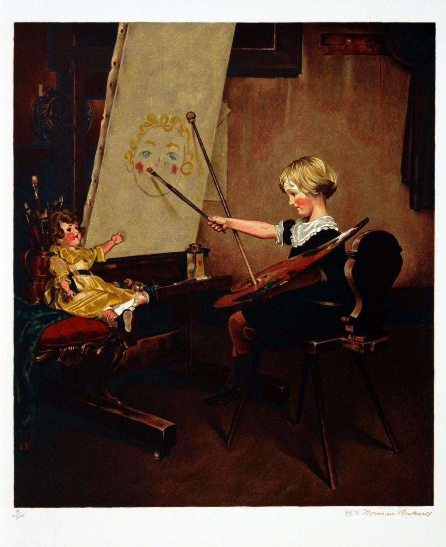 Norman Rockwell - Artist's Daughter