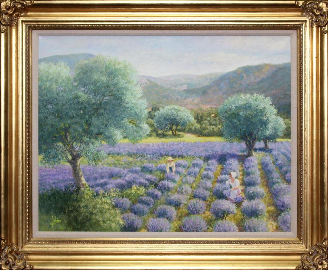 Louis Fabien - Lavande en Provence