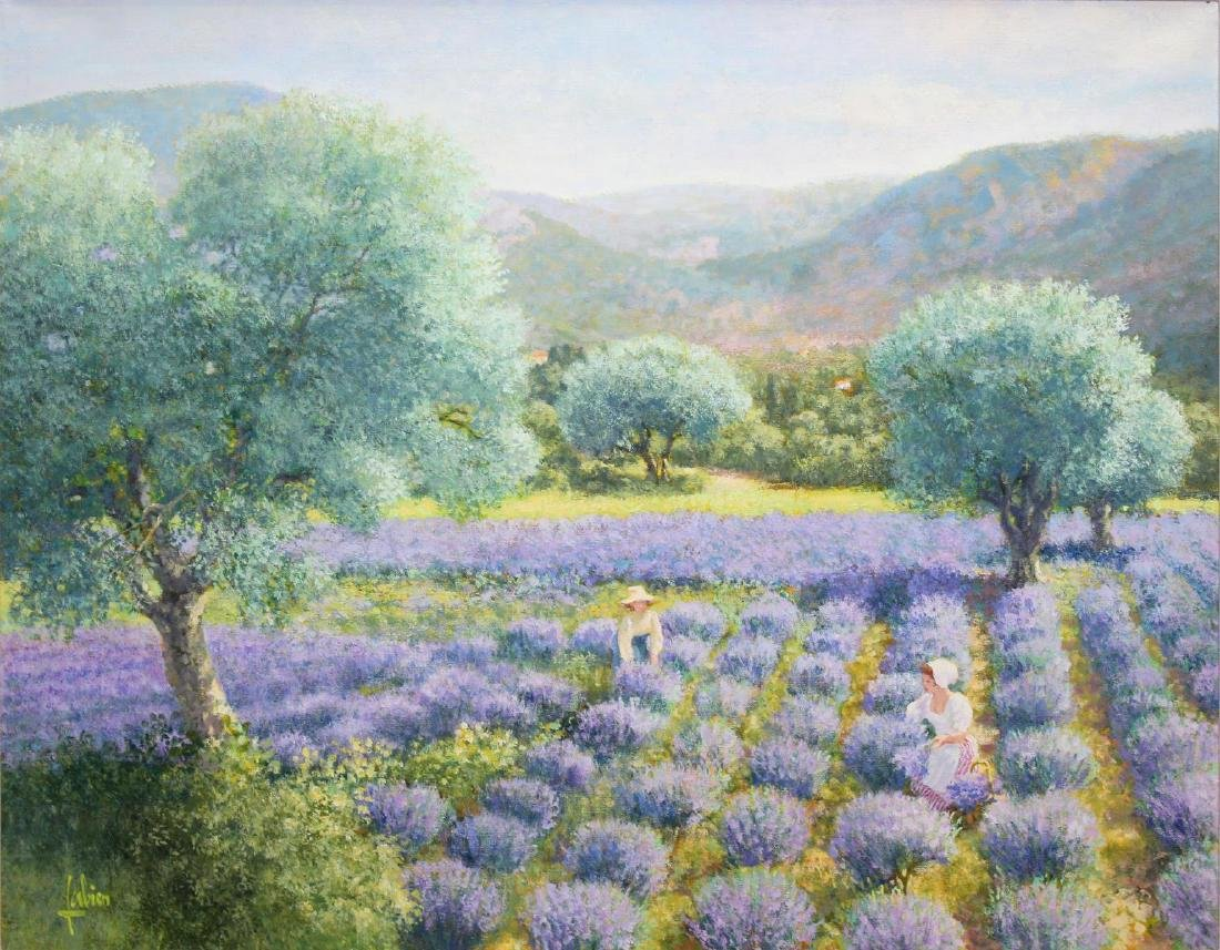 Louis Fabien - Lavande en Provence - 2