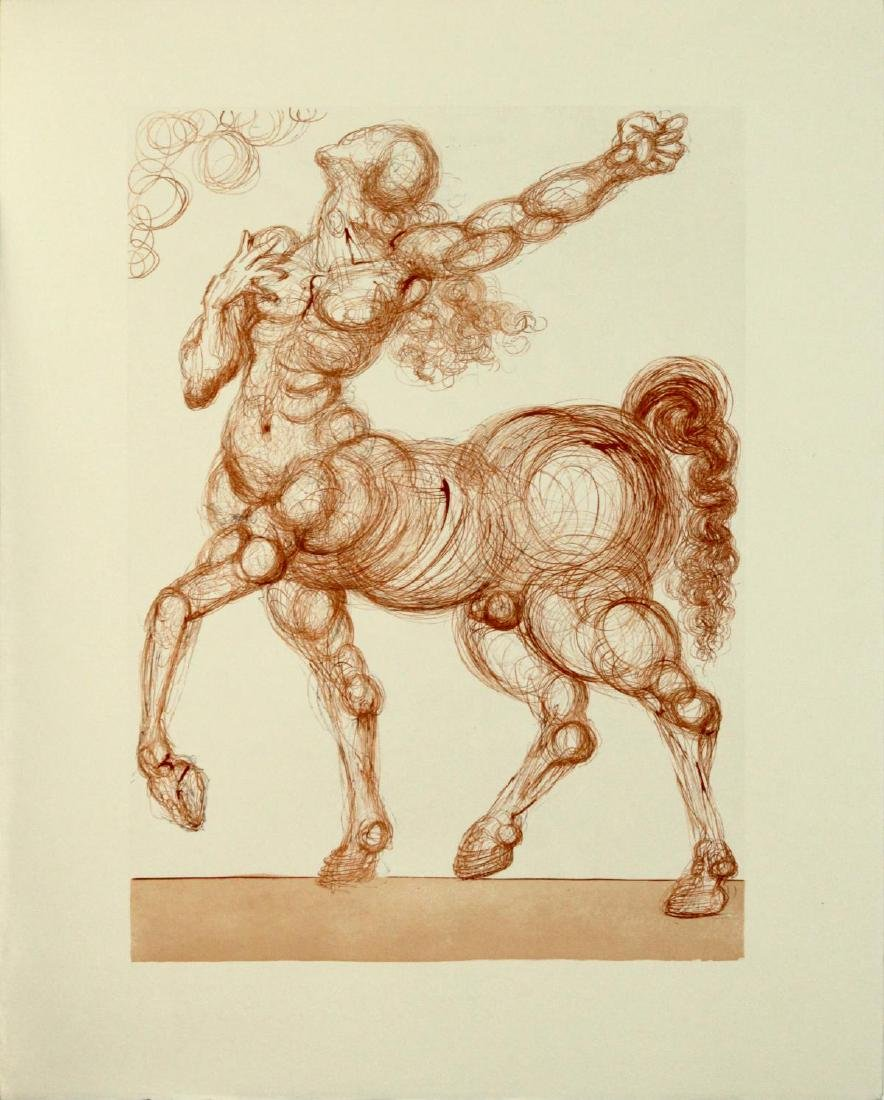 Salvador Dali - The Centaur