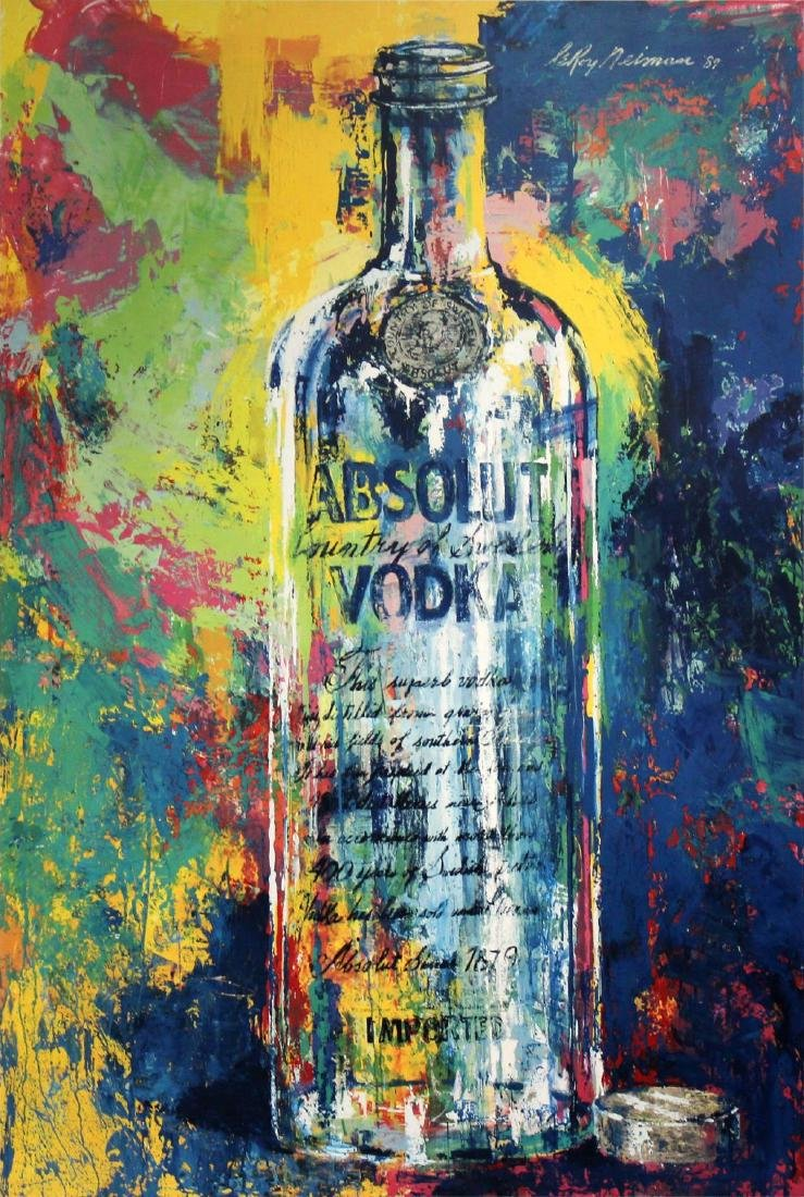 Leroy Neiman - Absolut Vodka