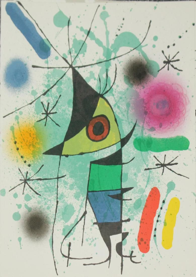 Joan Miro - Original Lithograph A