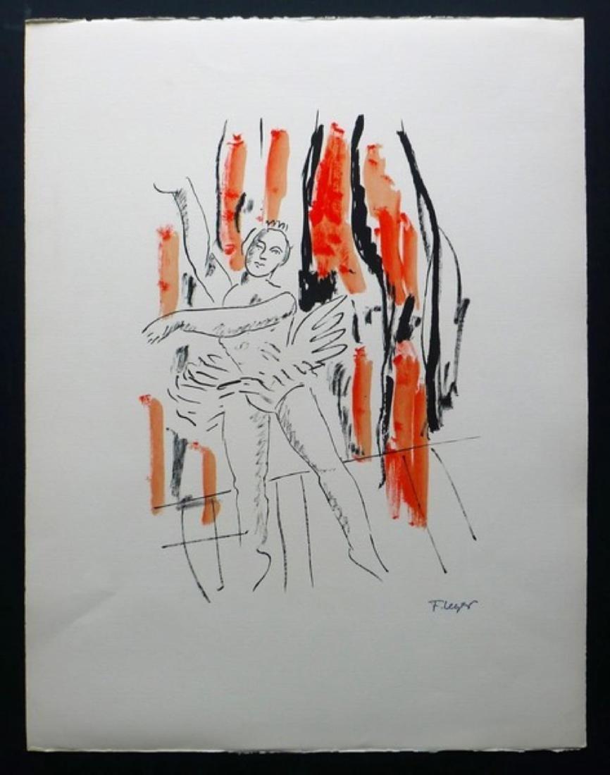 Fernand Leger - La Danseuse