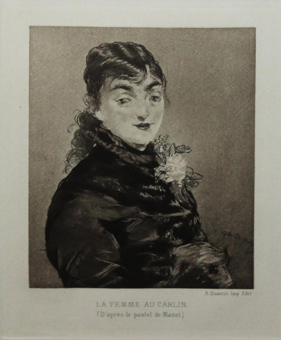 Edouard Manet - Mery Laurent (La Femme au Carlin)