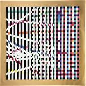 Yaacov Agam - Multi-Mag Rhythm (Set of Two Silkscreens)