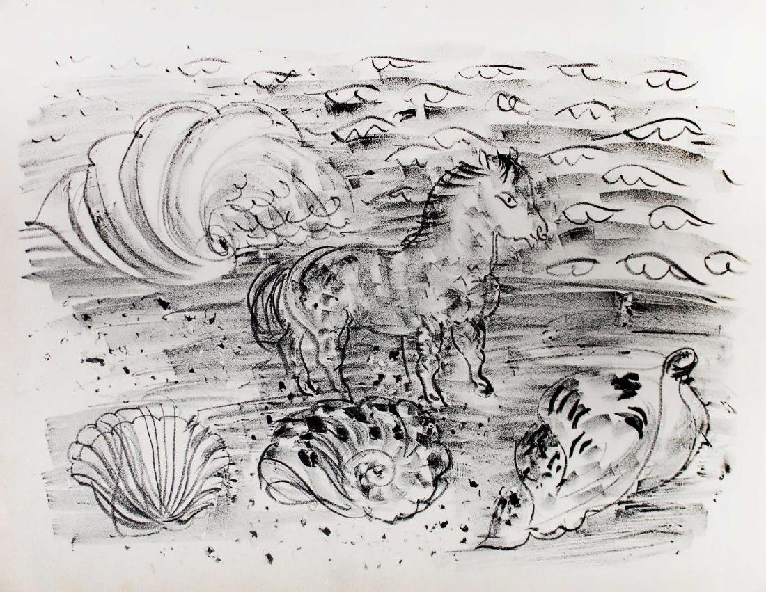 Raoul Dufy - Little Horse on the Seaside or Horse and