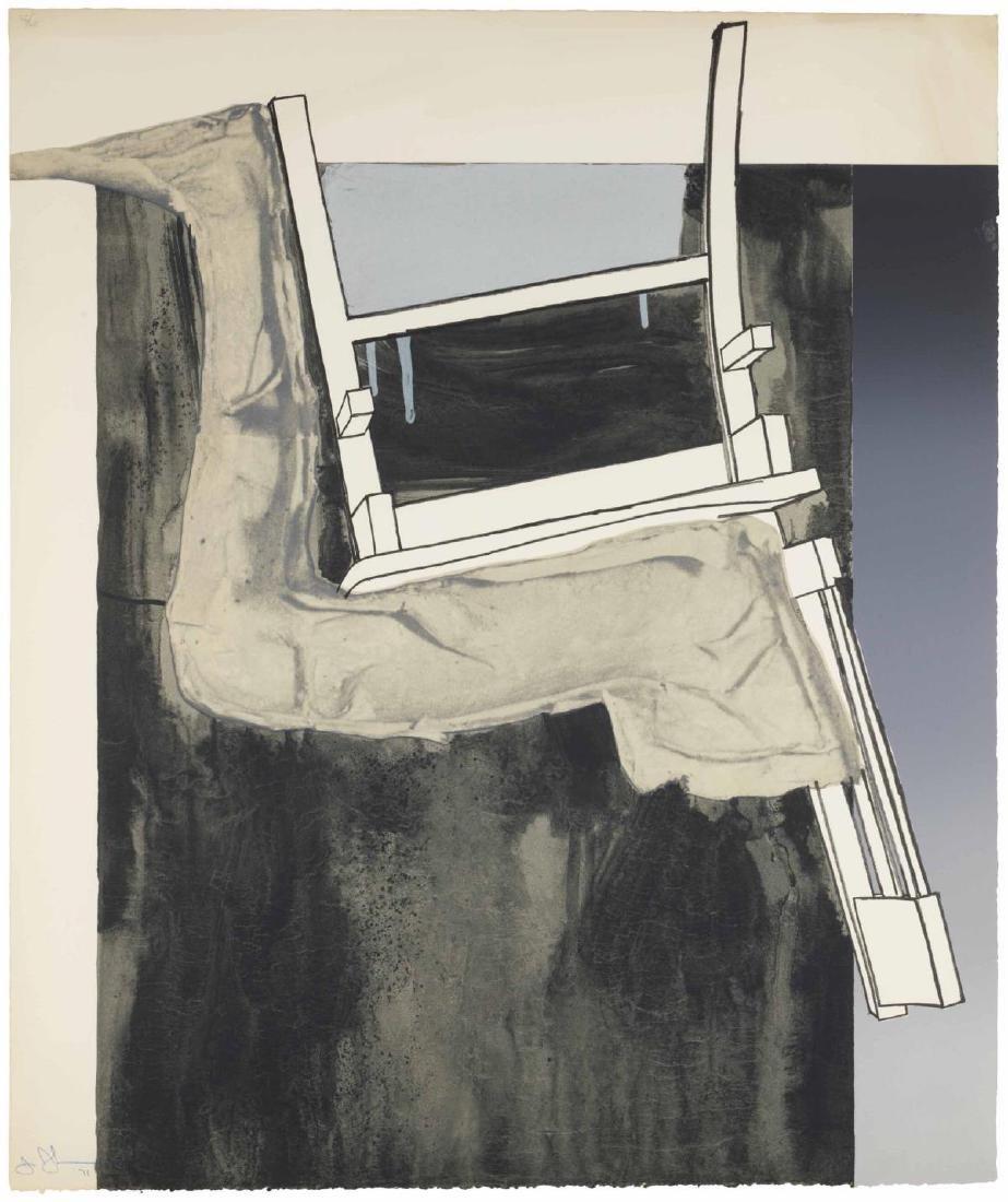 Jasper Johns -Fragment - According to What