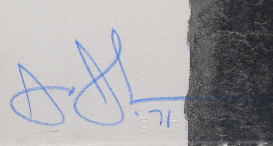 Jasper Johns -Fragment - According to What - 2