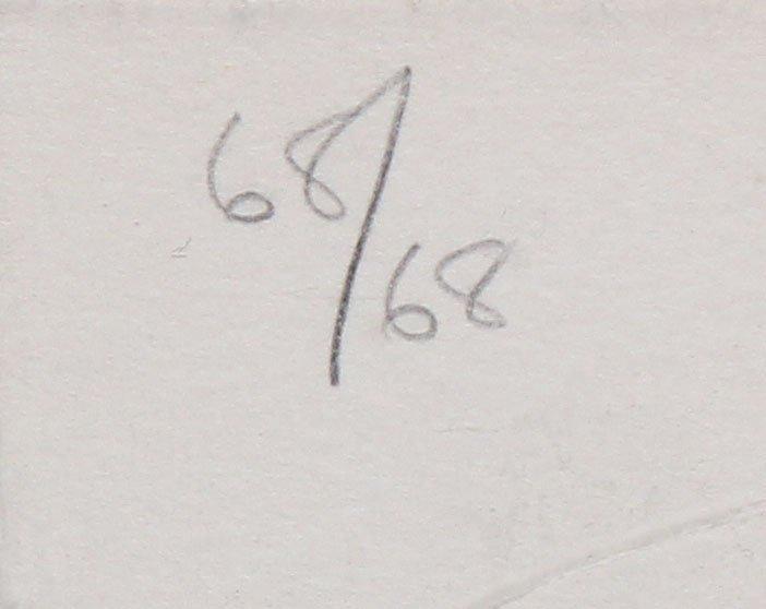 Jasper Johns -Fragment - According to What - 3
