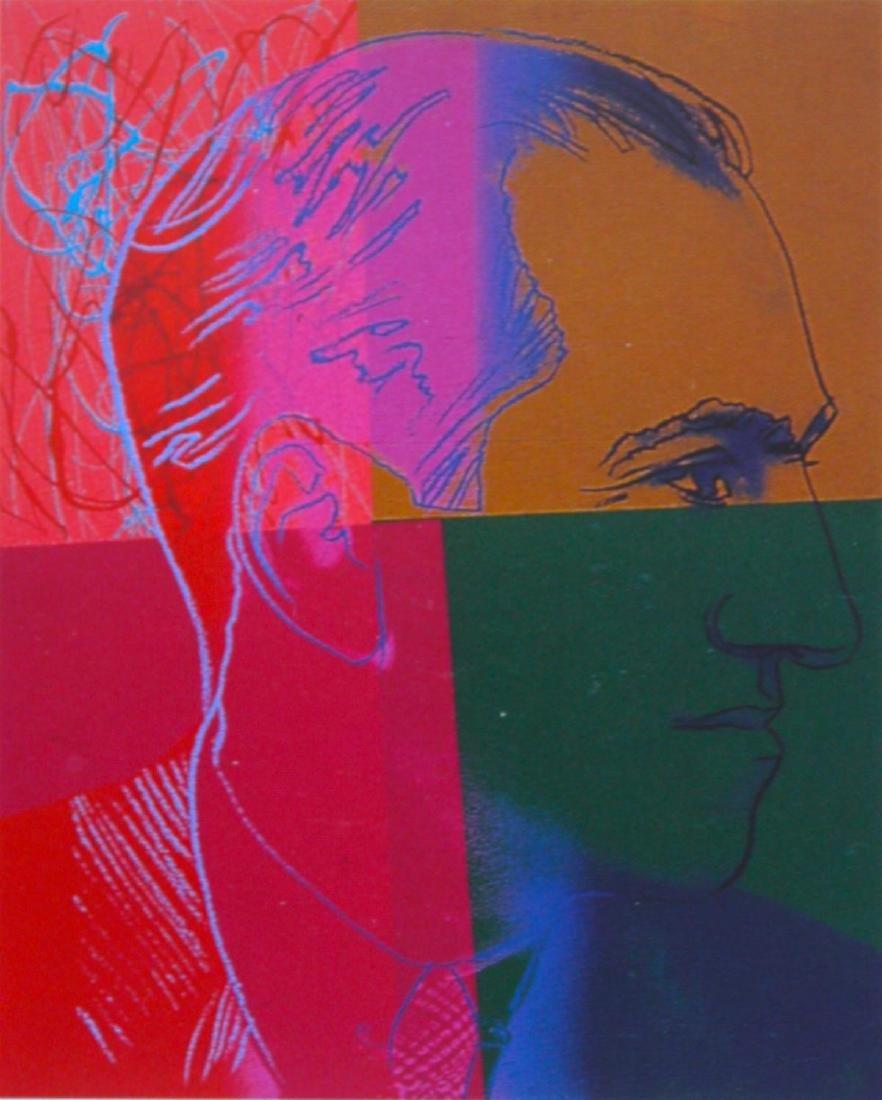 Andy Warhol - George Gershwin