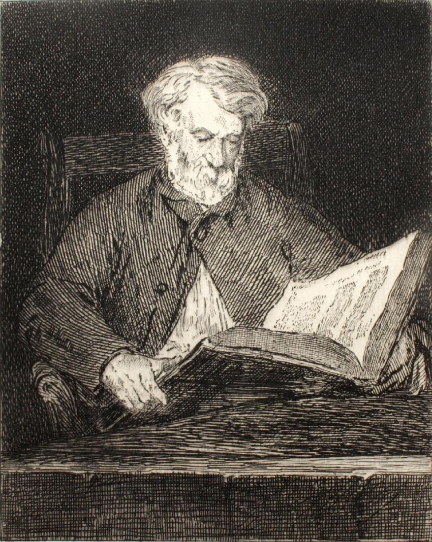 Edouard Manet - Le Liseur