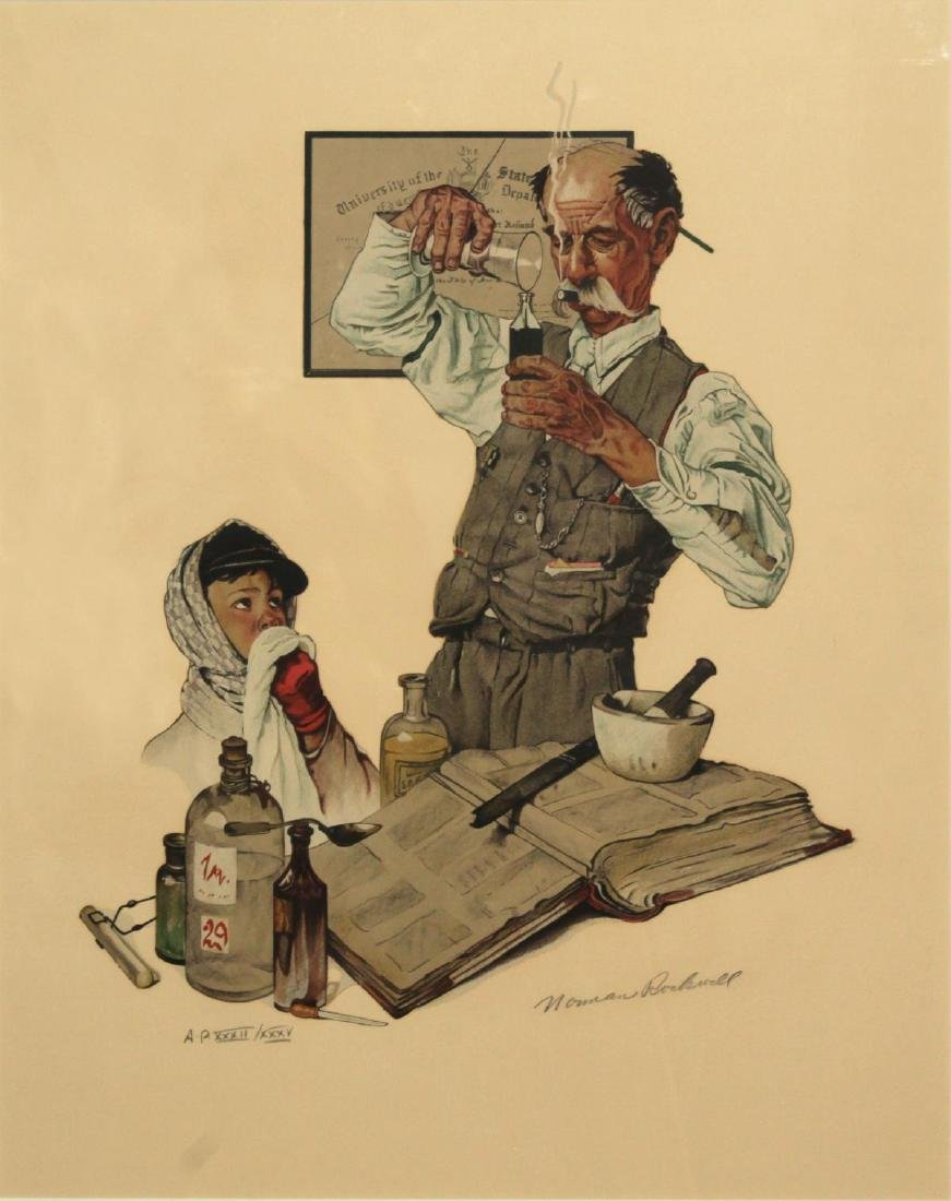 Norman Rockwell - The Pharmacist