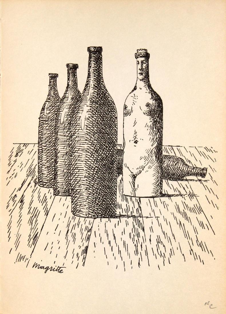 Rene Magritte - Untitled (Bottles)