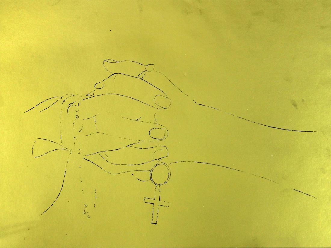 Andy Warhol - A Gold Book II