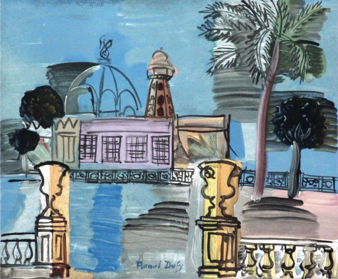 Raoul Dufy - Le Casino De La Jetee A Nice