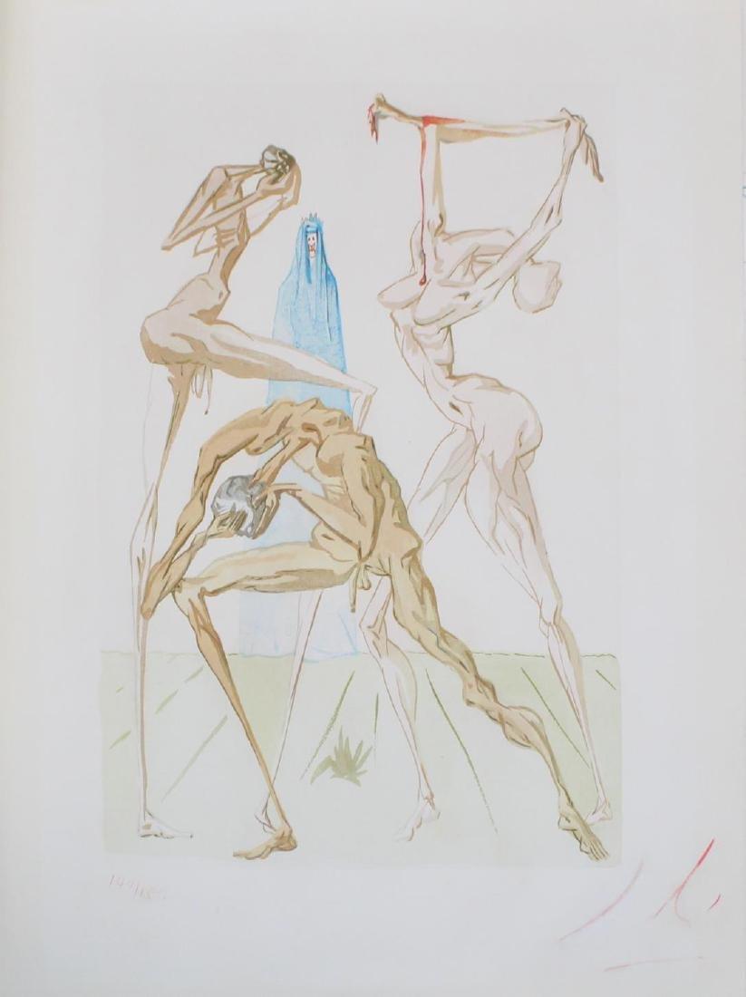 Salvador Dali - The Sodomites