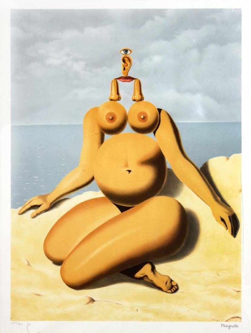 Rene Magritte - The White Race