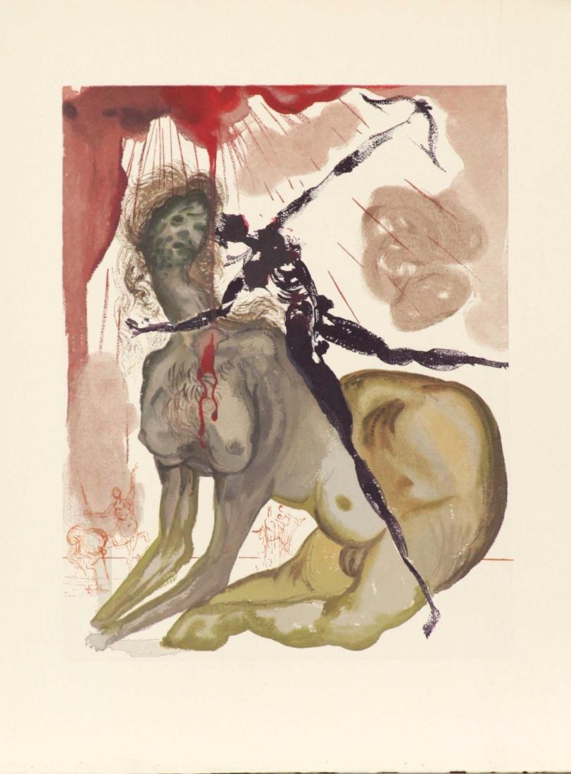 Salvador Dali - The Minotaur