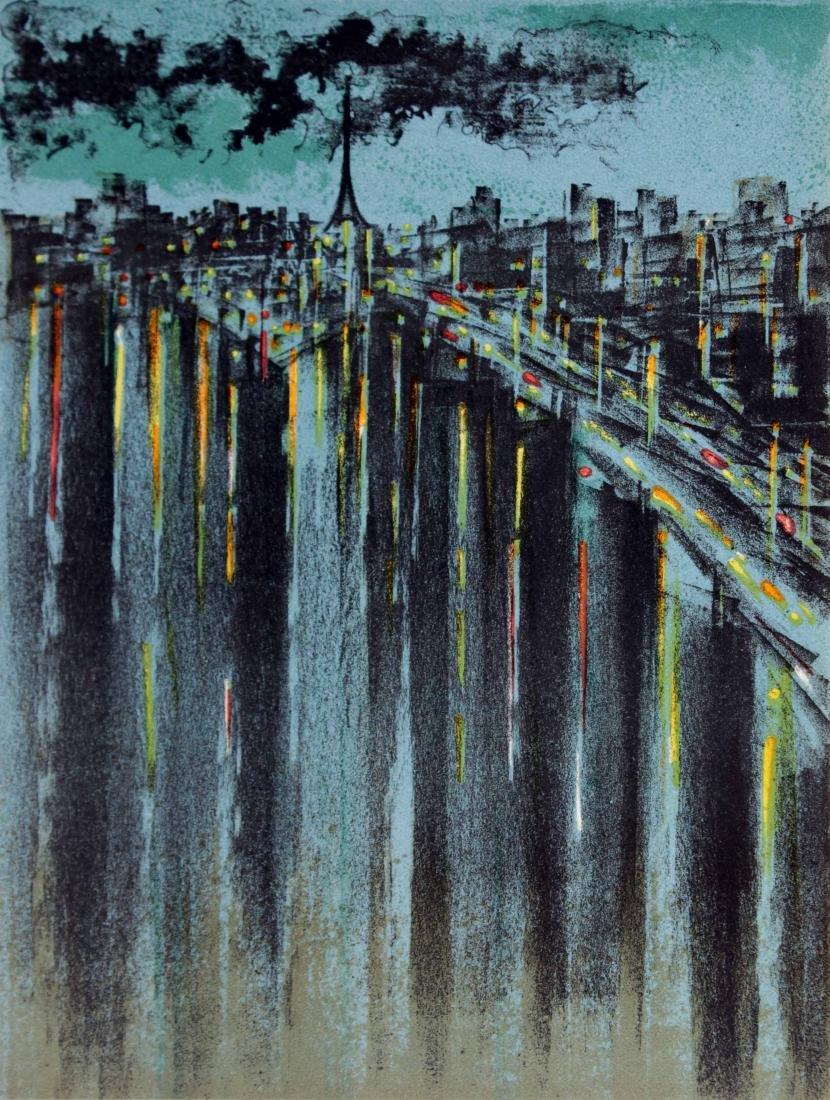 Richard Florsheim - La Seine a Paris