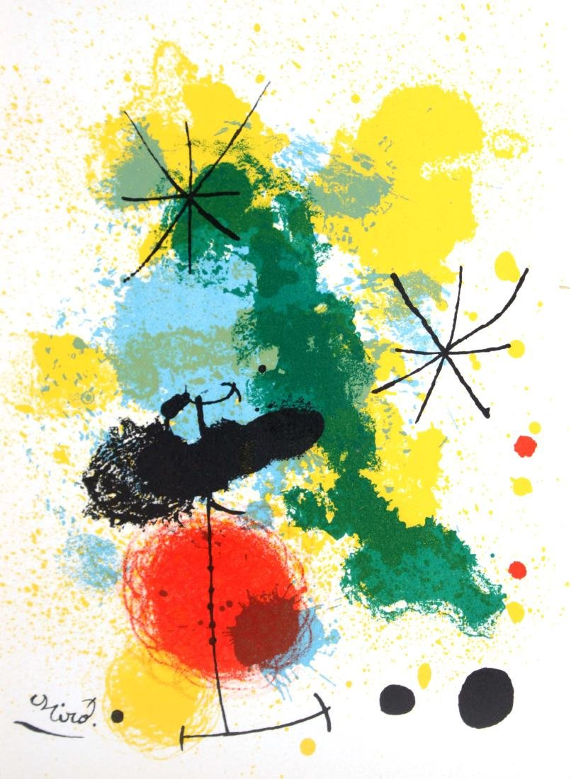 Joan Miro - Original Lithograph
