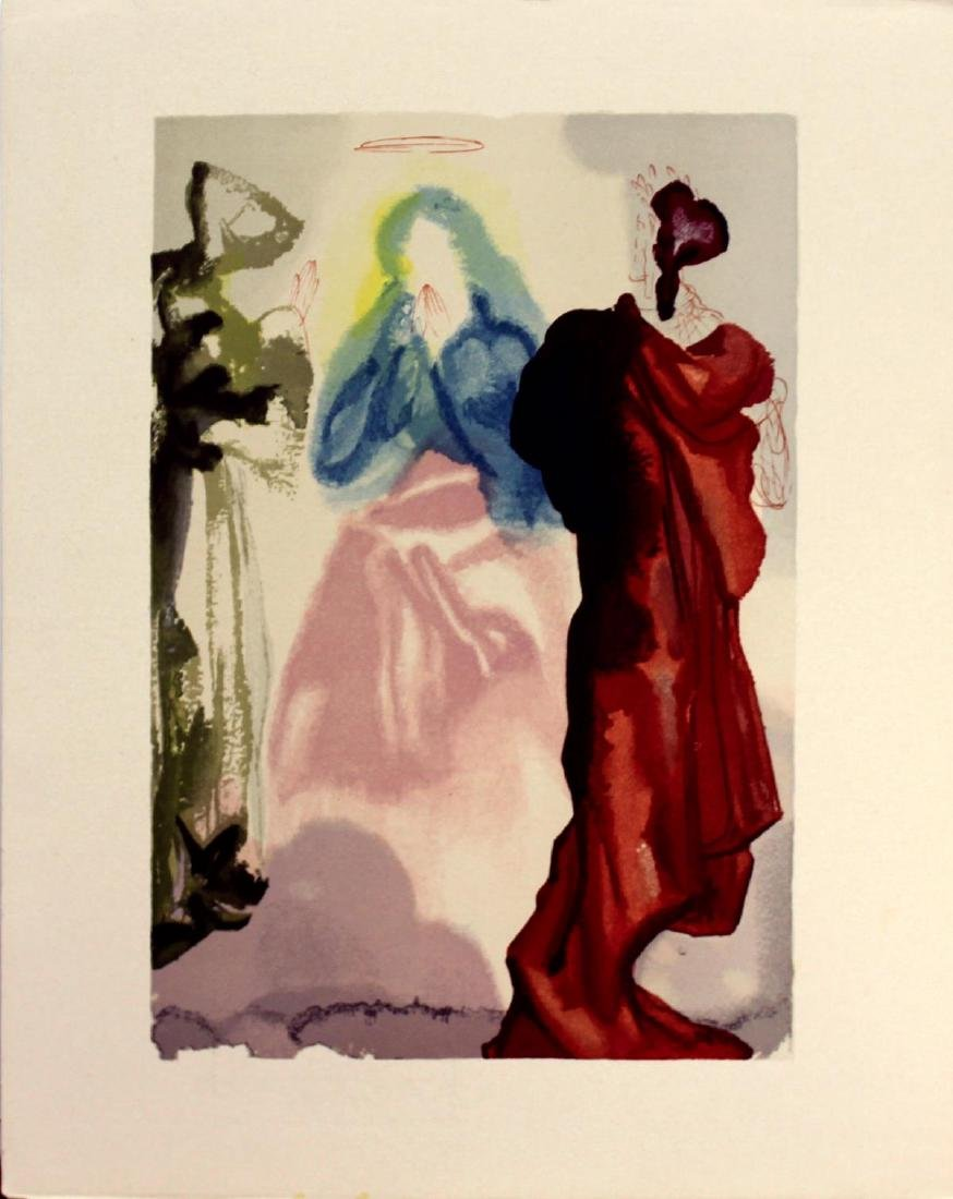 Salvador Dali - Saint Bernard's Prayer