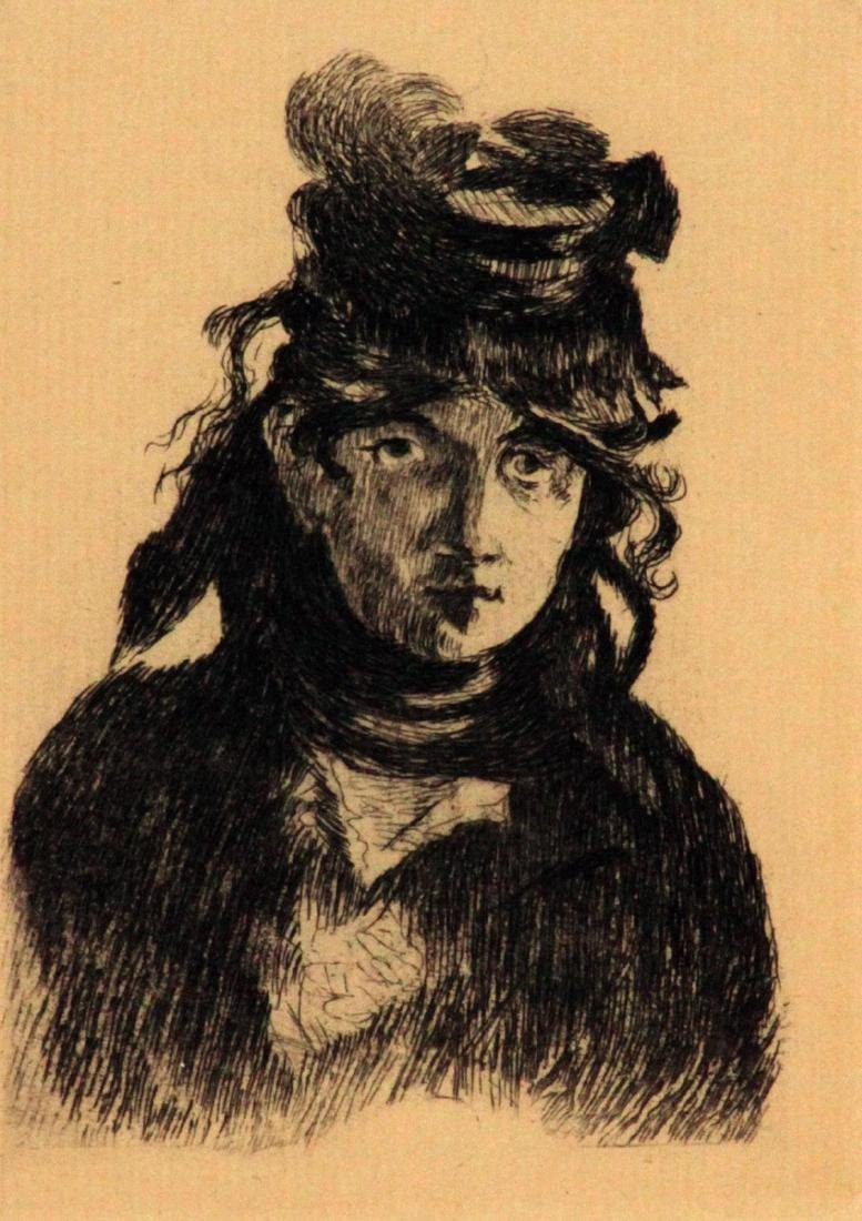 Edouard Manet - Berthe Morisot