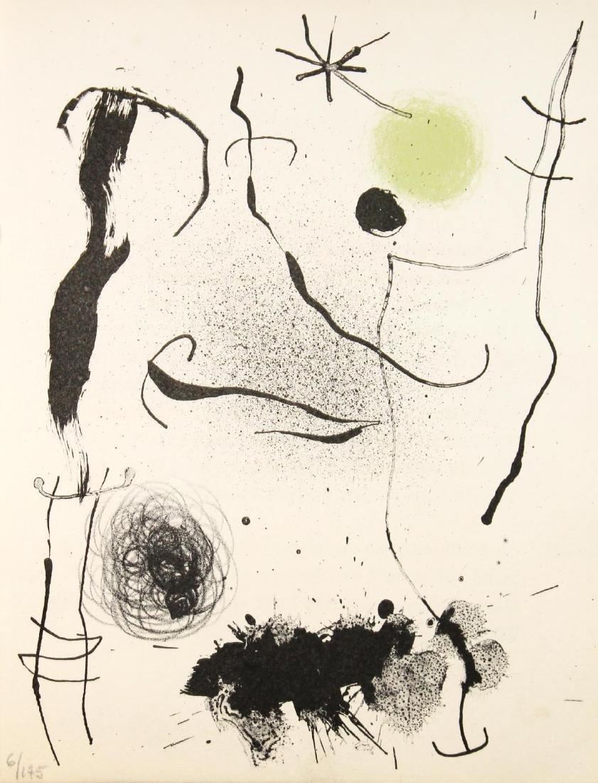 Joan Miro - Bouquet II
