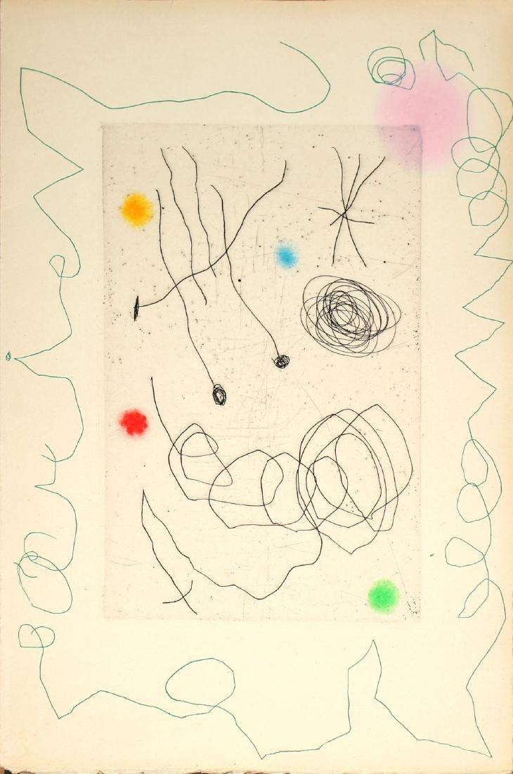 Joan Miro - La Couette et L'Escargot