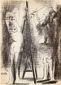 Pablo Picasso - Le peintre et son modele