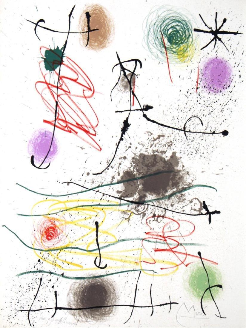 Joan Miro - Quelques fleurs pour des amis Frontispiece