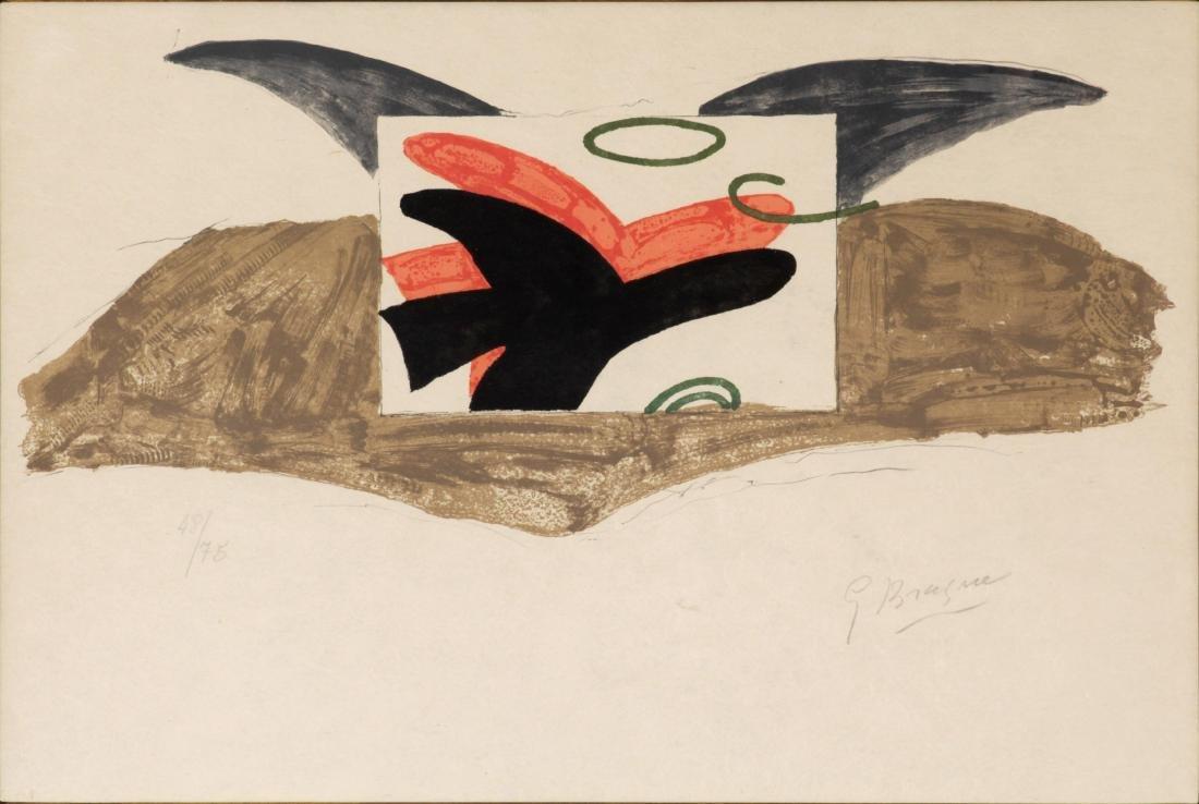 George Braque - Affiche pour l