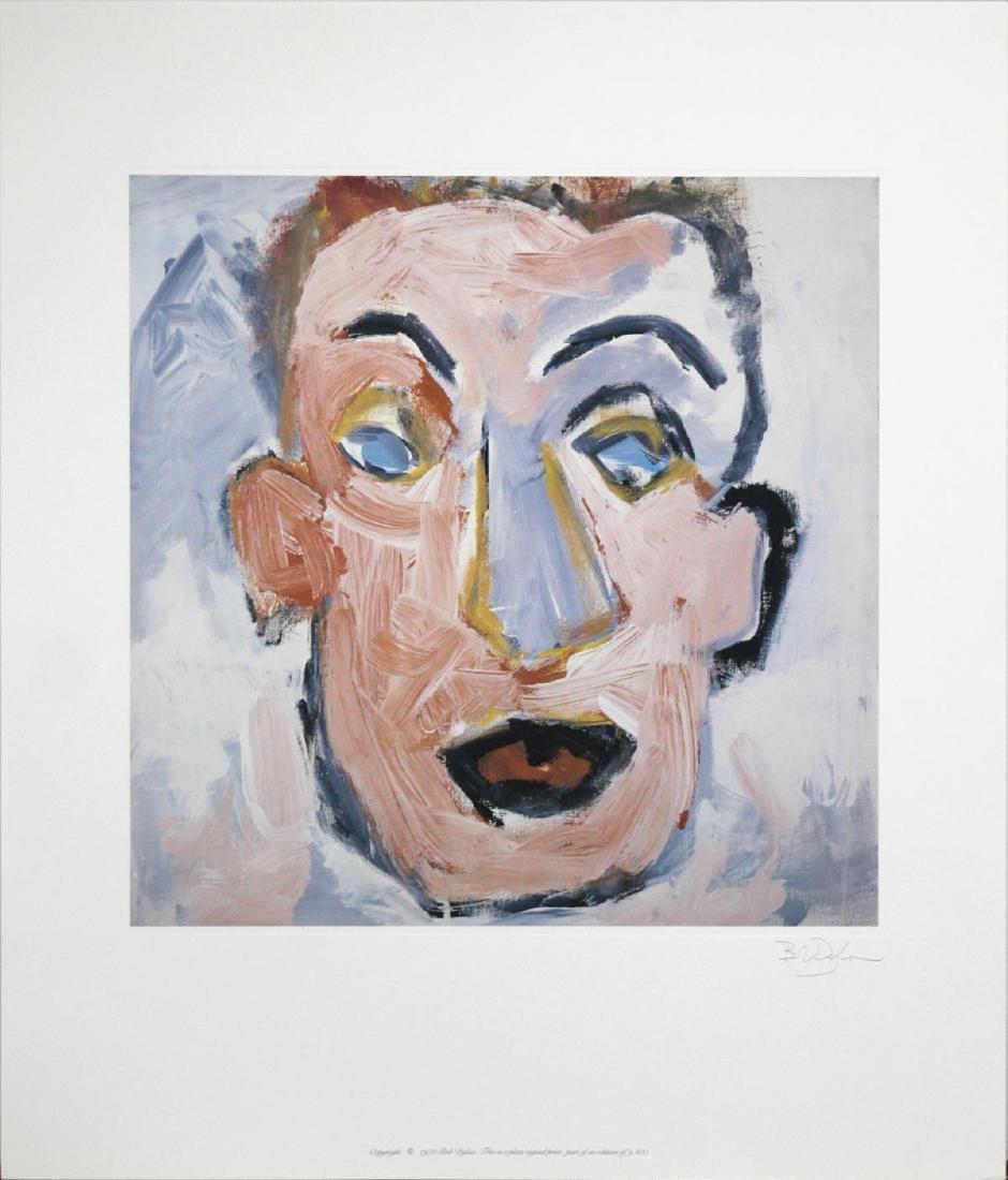 Bob Dylan - Self Portrait Album Art with Facsimile
