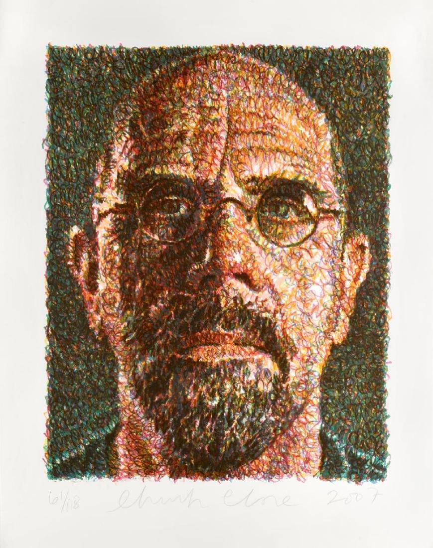 Chuck Close - Self Portrait