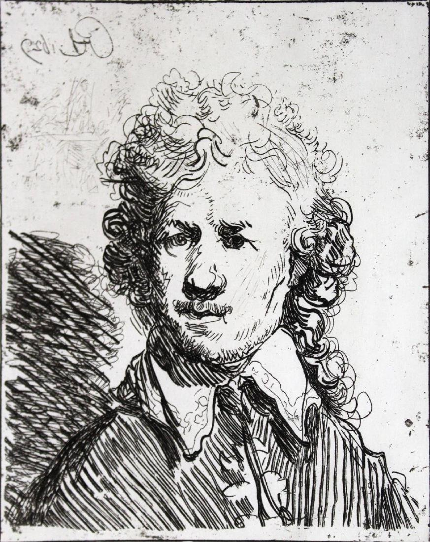 Rembrandt van Rijn (After) - Self Portrait