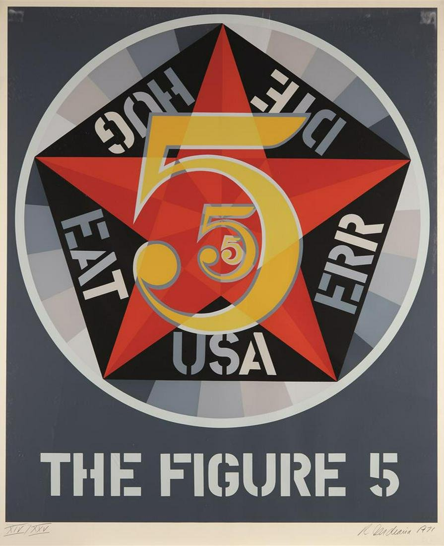 Robert Indiana - Decade I