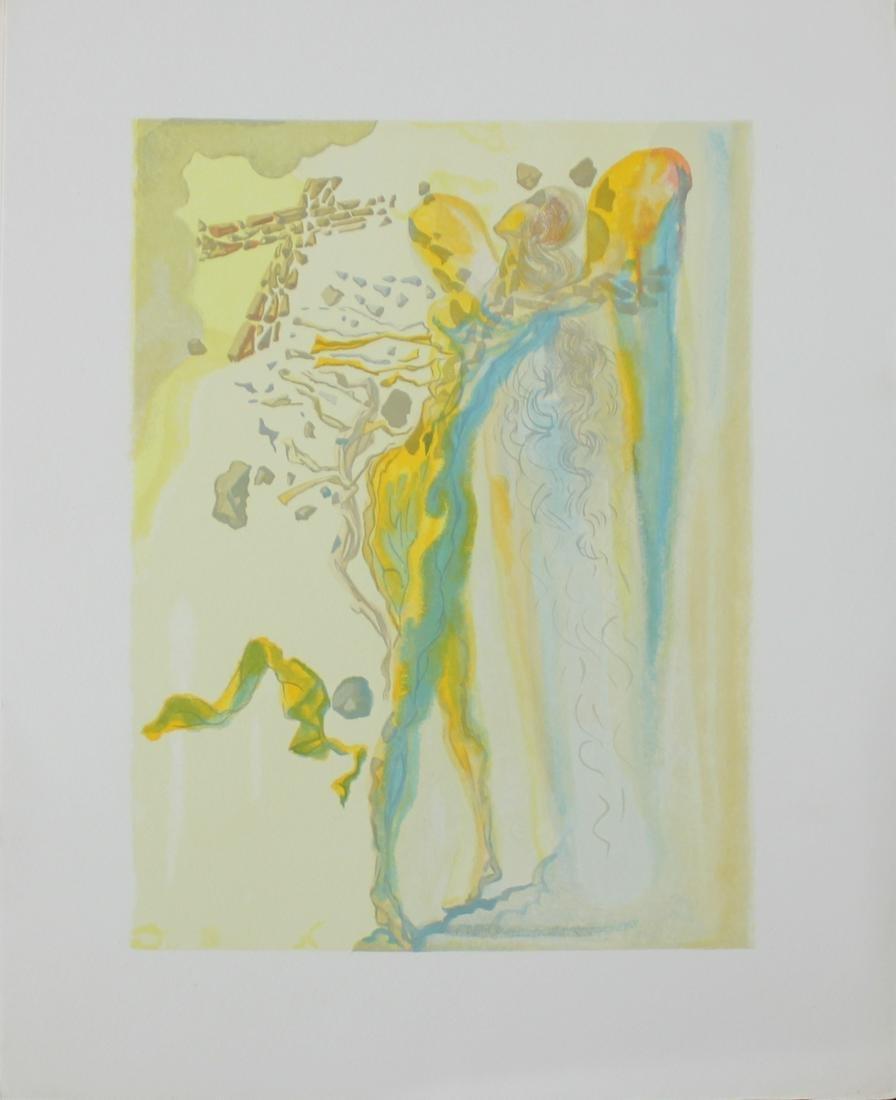 Salvador Dali, from Divine Comedy