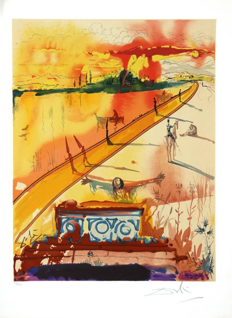 Salvador Dali - The Obsequies for Clorinda