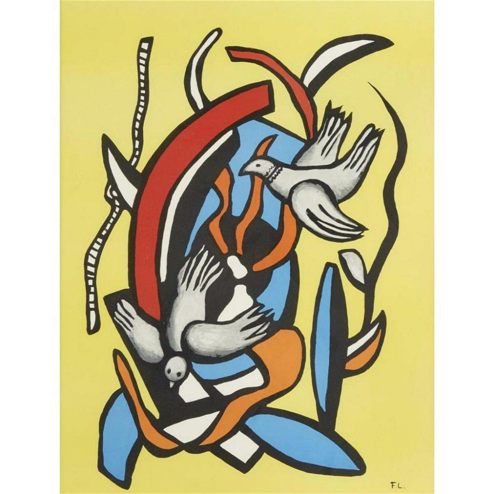 Fernand Leger (After) - Two Birds