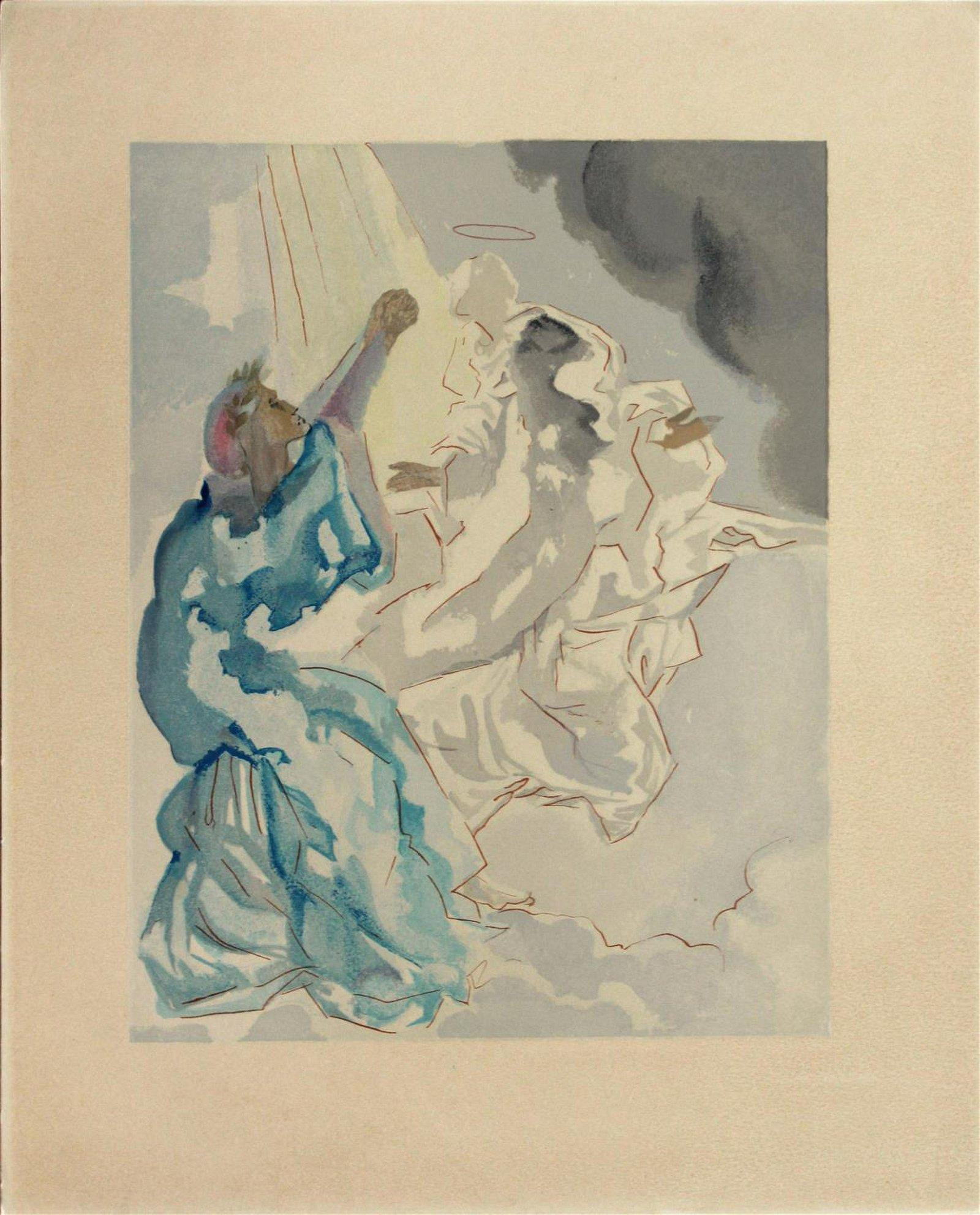 Salvador Dali - New Image of Beatrice