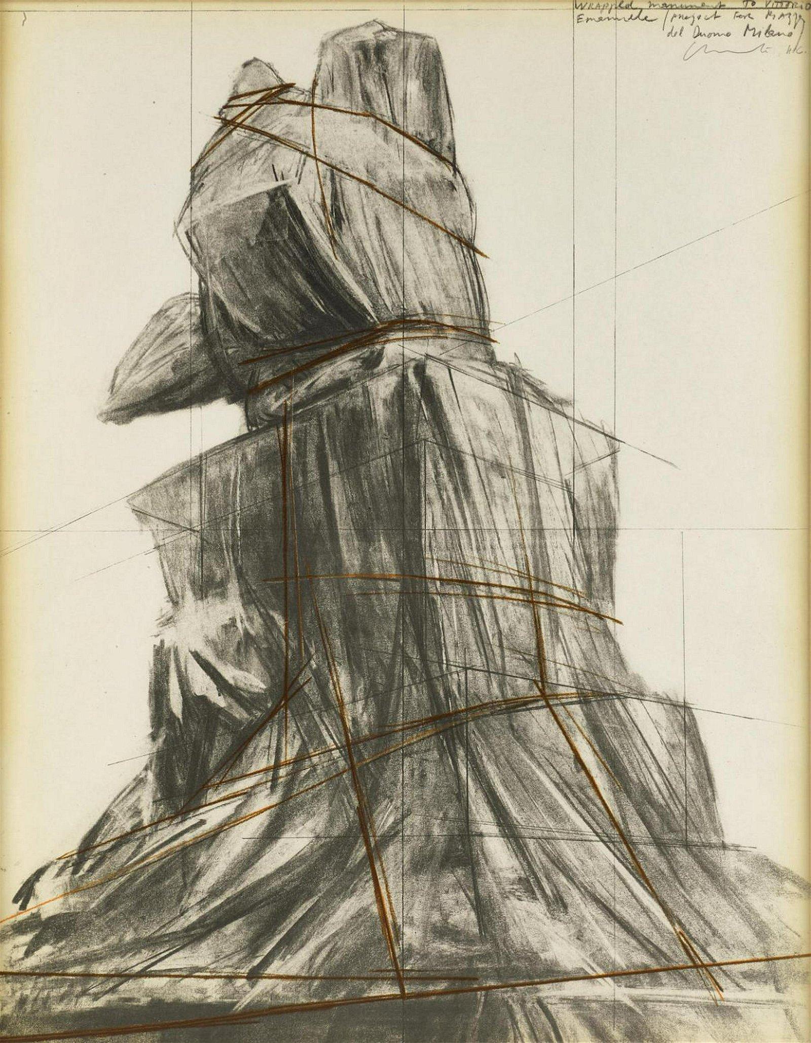 Christo - Wrapped Monument to Vittorio Emanuele