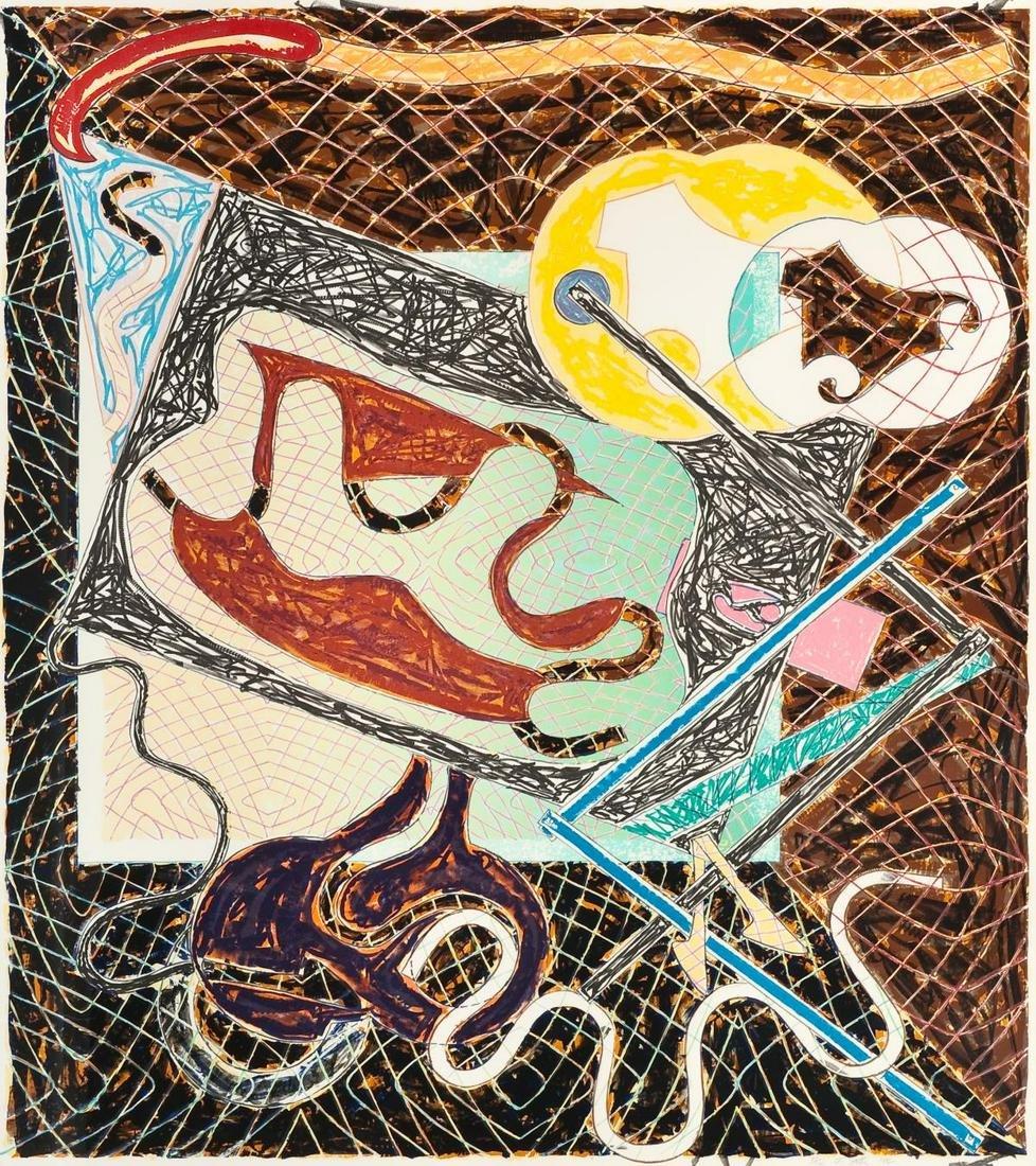 Frank Stella - Shards III