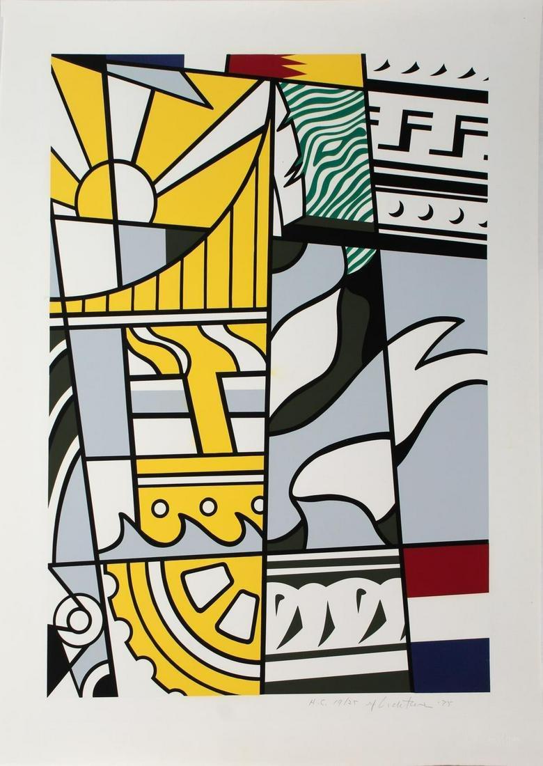 Roy Lichtenstein - Bicentennial Print